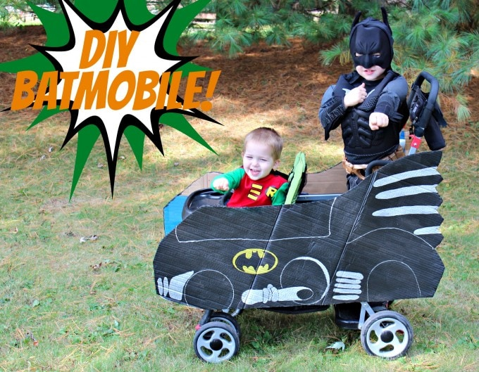 DIY Batmobile by Just a Girl and Her Blog