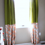 IKEA Hack: No-Sew Curtains {The Cs' Big Boy Room}