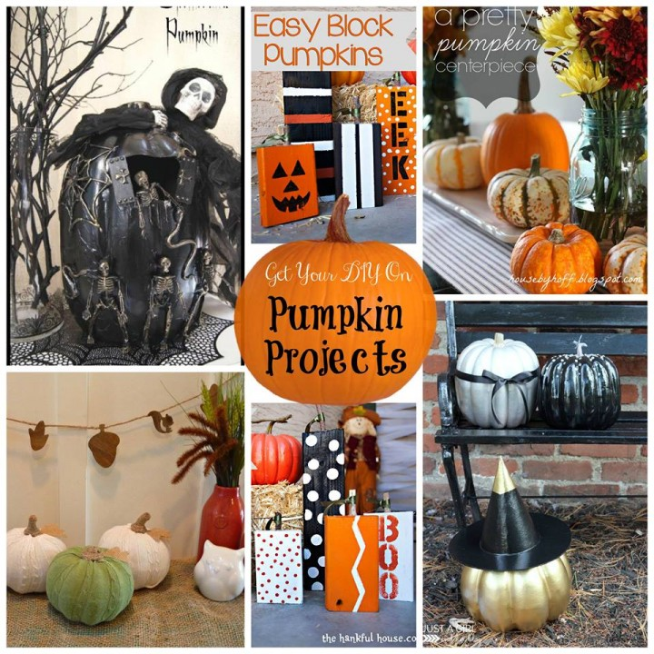 Pumpkin Projects Collage