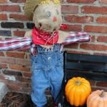 Spooky Outdoor Decor- A Cute Little SCAREcrow