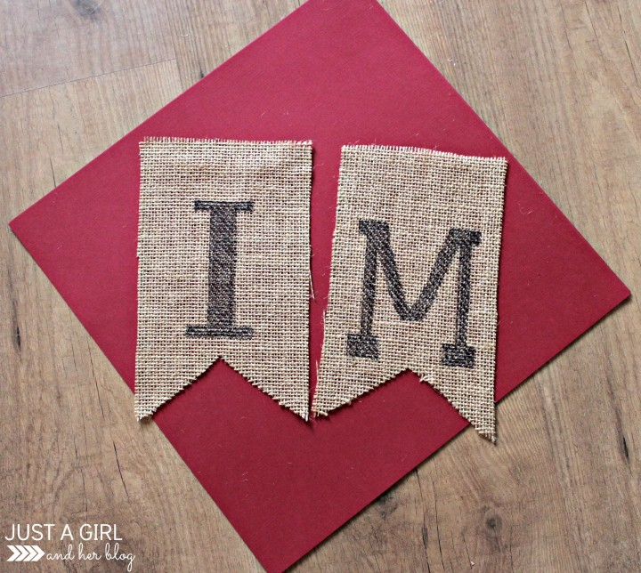 Immanuel Burlap Banner by Just a Girl and Her Blog