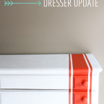 Dresser Update {The Cs' Big Boy Room}