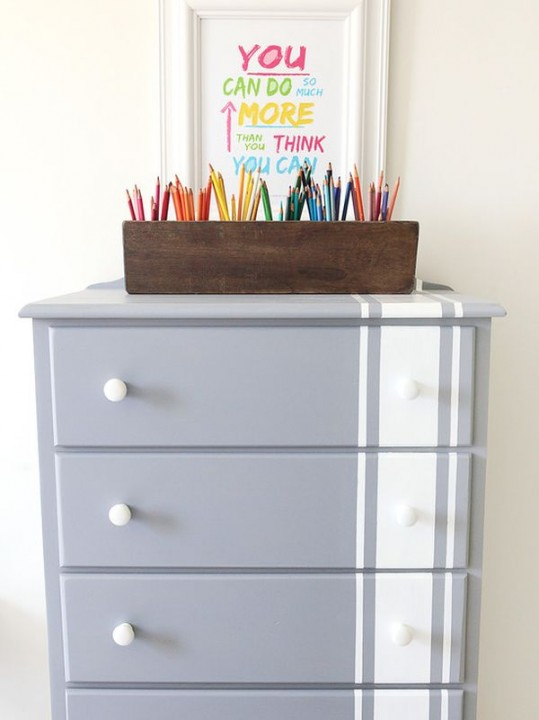 homedit striped-dresser-grey