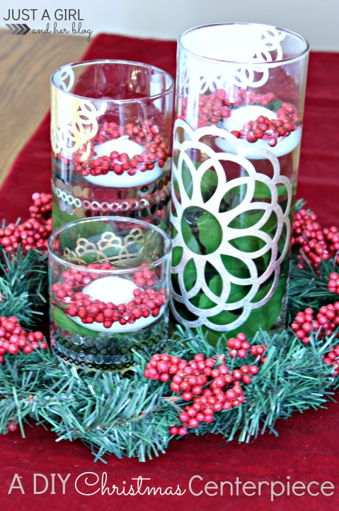 A diy christmas centerpiece with martha stewart crafts