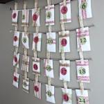 Our DIY Advent Calendar {with FREE Printables!}