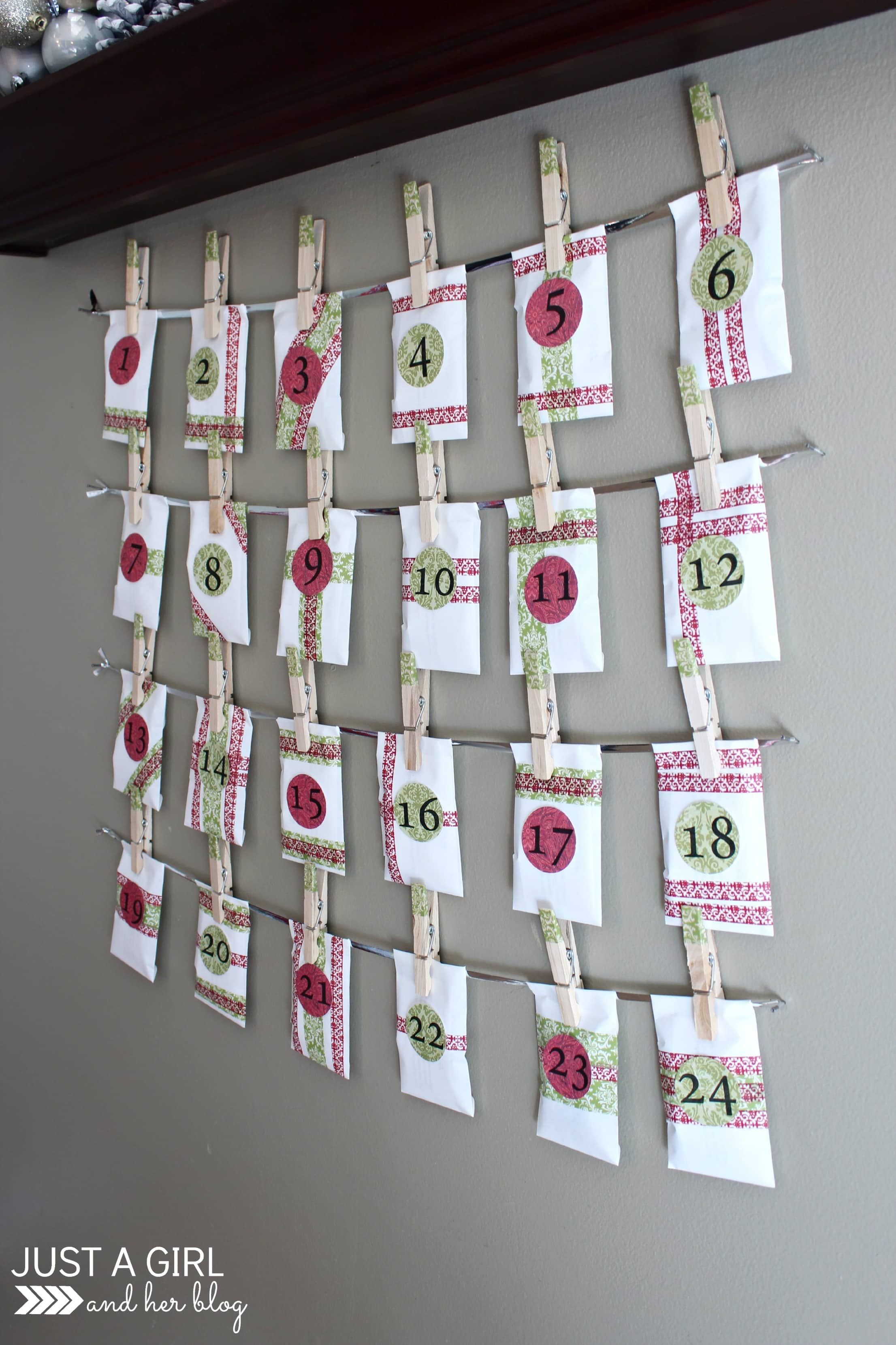 Diy Christian Advent Calendar : Our diy advent calendar with free printables just a