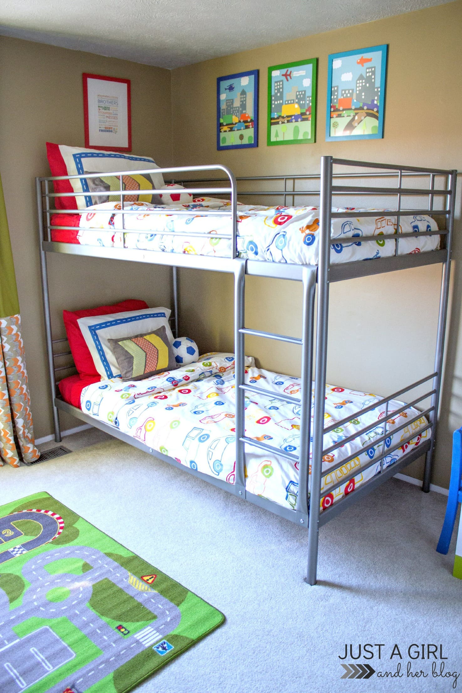the cs ikea big boy room reveal just a girl and her blog 11843 | bunk beds1