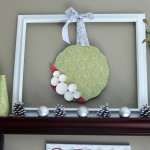 Faux Christmas Wreath {with Mod Podge by Plaid Crafts}