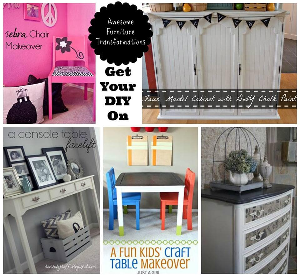 A fun kids 39 craft table makeover just a girl and her blog for Diy furniture transformations