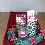 A DIY Christmas Centerpiece {with Martha Stewart Crafts}