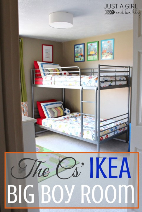 The Cs Ikea Big Boy Room Reveal Just A Girl And Her Blog