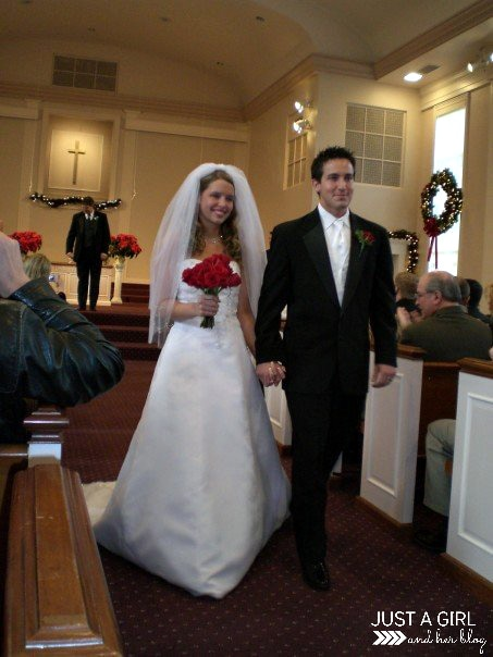 Our Christmas Wedding, Part 2 by Just a Girl and Her Blog