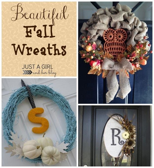 Beautiful Fall Wreaths