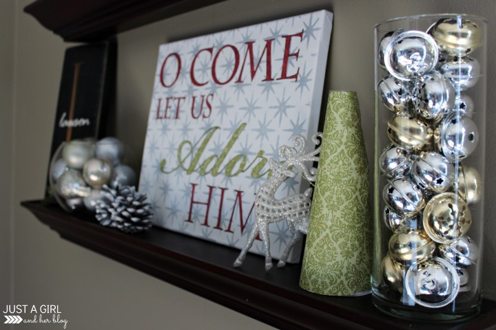 12 Days of Christmas Home Tour by Just a Girl and Her Blog