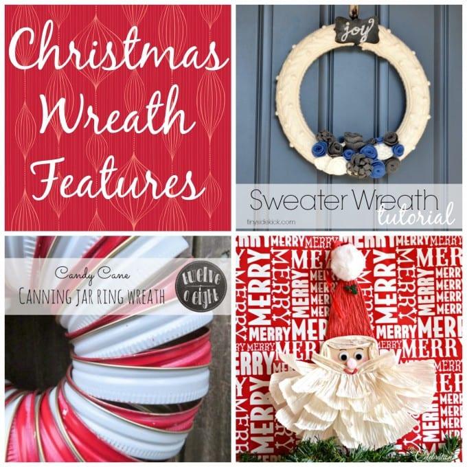 Christmas Wreath Features