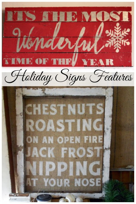 Holiday Signs Features