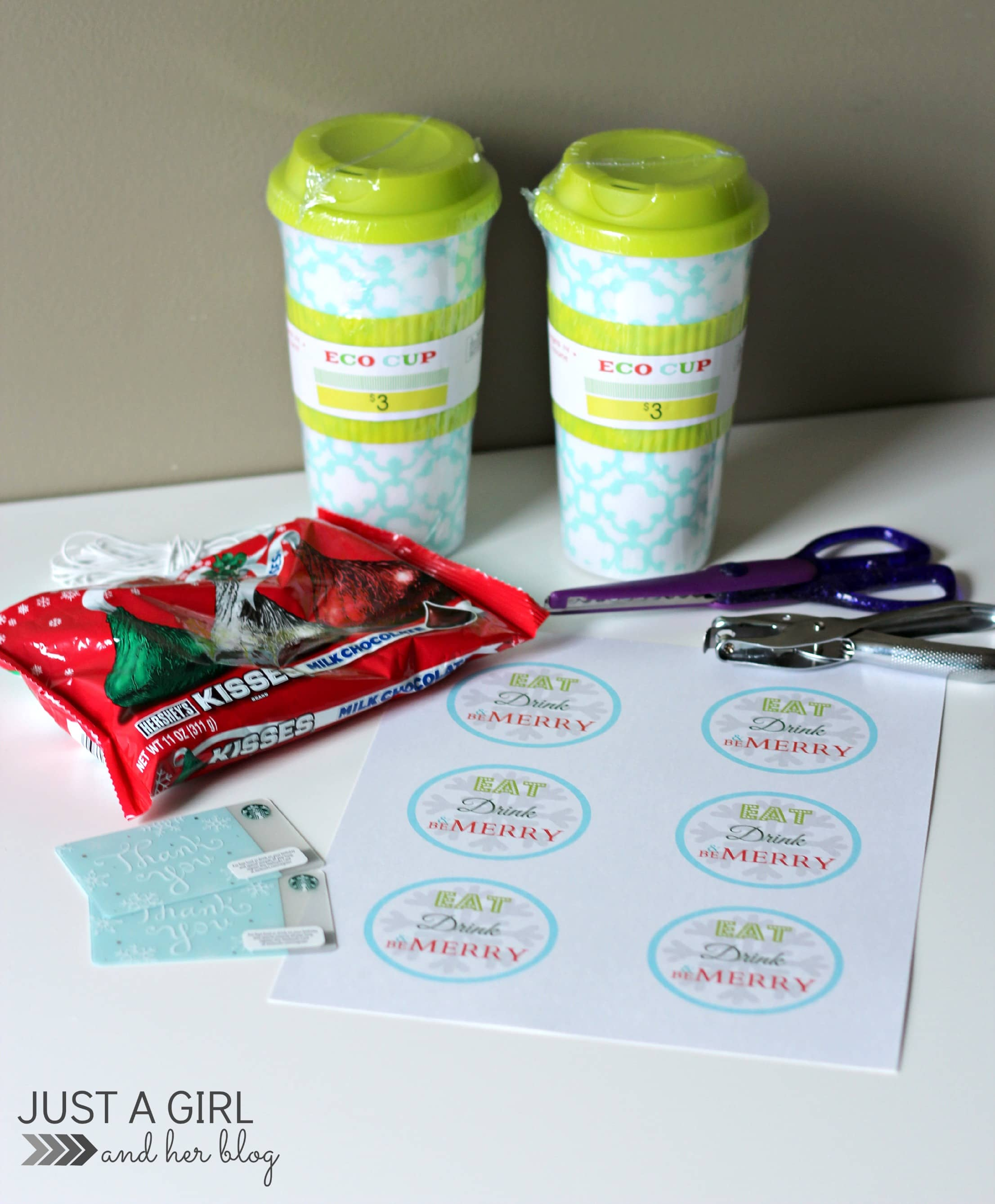 3 Creative Gifts Under $10 {with FREE printable gift tags!} - Just a ...