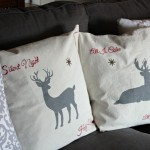 No-Sew Pillow Covers {decorated with Sharpies!}