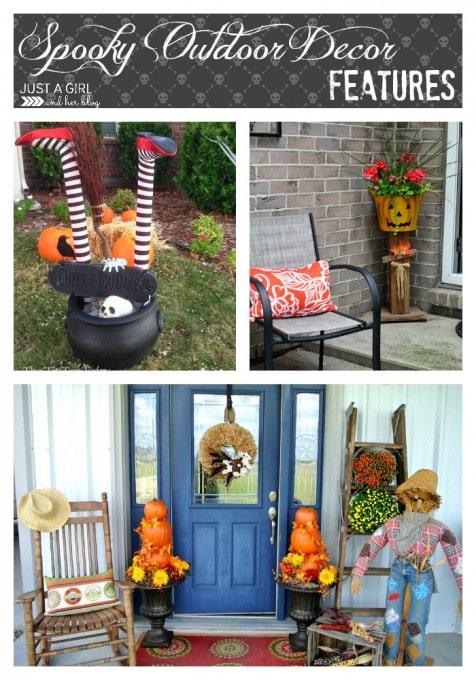Spooky Outdoor Decor Features