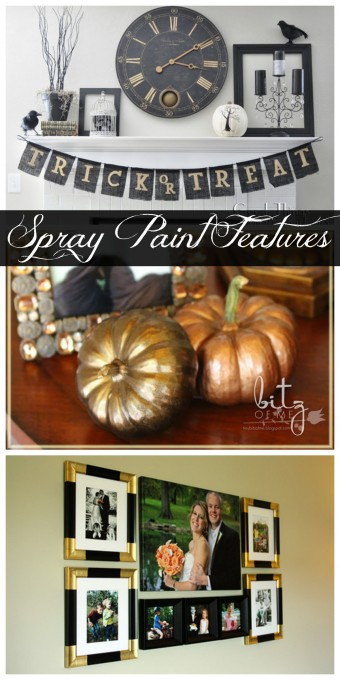 Spray Paint Features