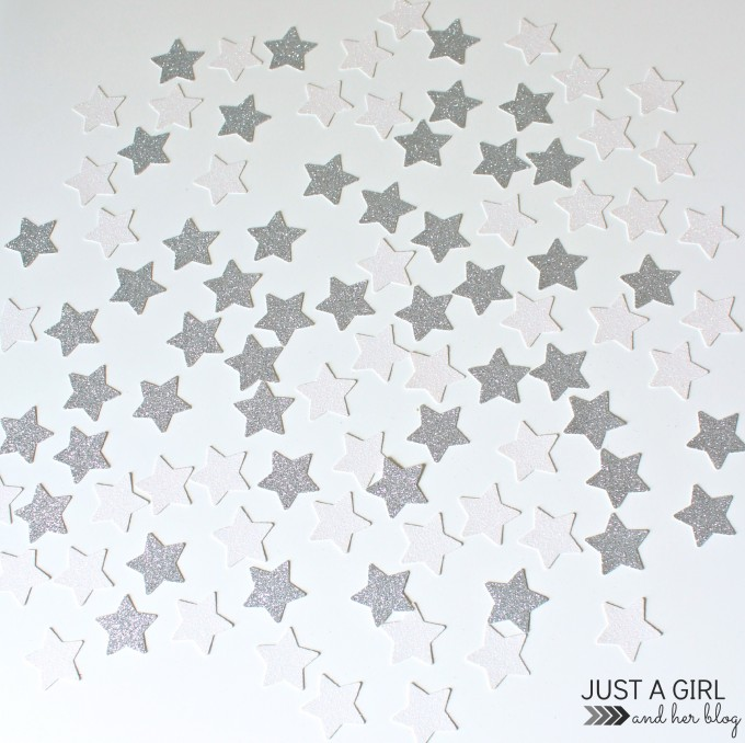 Falling Star Wall Hanging by Just a Girl and Her Blog