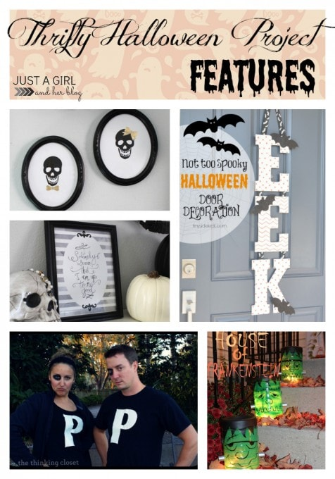 Thrifty Halloween Project Features