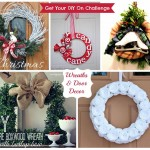 Get Your DIY On {Holiday Wreaths and Door Decor}