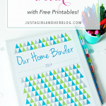 Our Home Binder: A Tour {with FREE printables!}