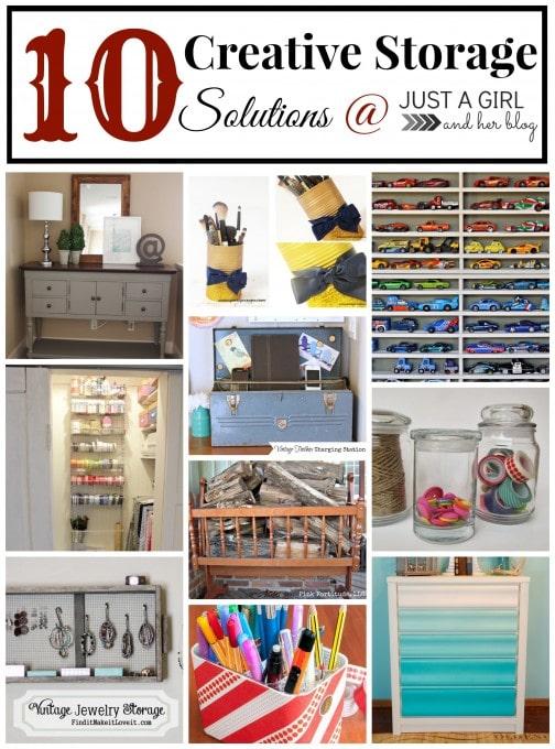 10 Creative Storage Solutions