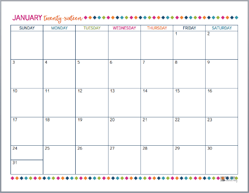 Calendar Head Design : Our home binder a tour with free printables just