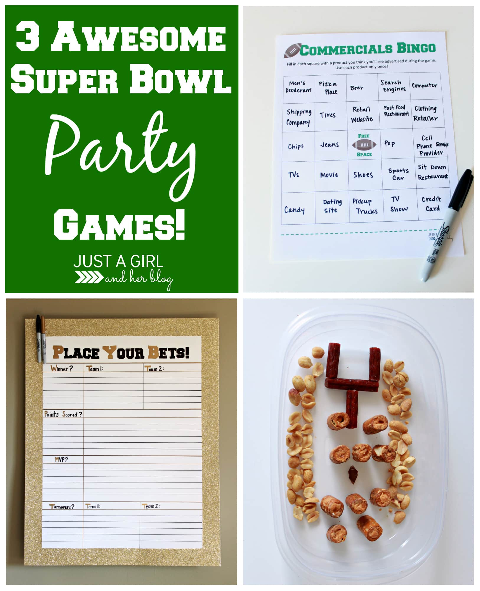 3 awesome super bowl party games just a girl and her blog