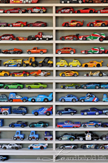 Matchbox Car Storage by A Lo and Behold Life