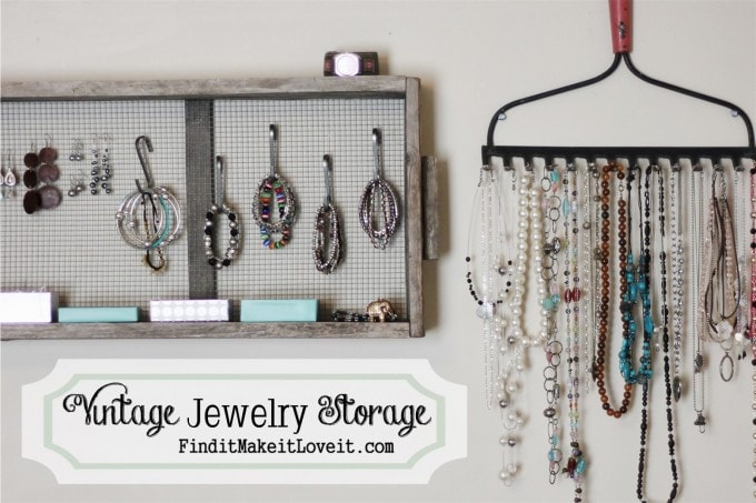 Vintage Jewelry Storage Find It Make It Love It