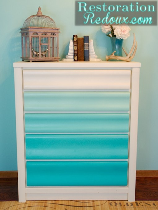 Ombre Dresser by Restoration Redoux