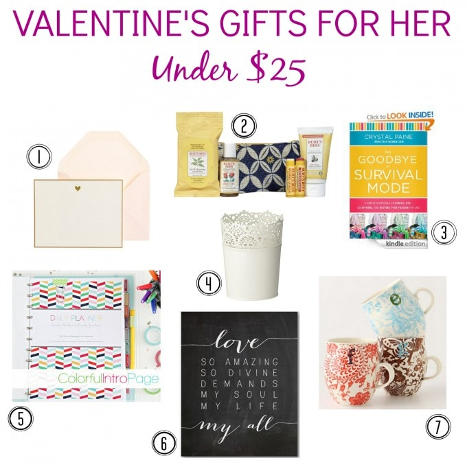 Valentine's Day Gift Guide, Just a Girl and Her Blog