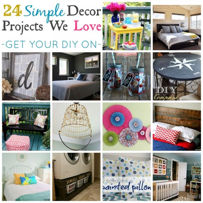 24 simple decor projects we love just a girl and her blog