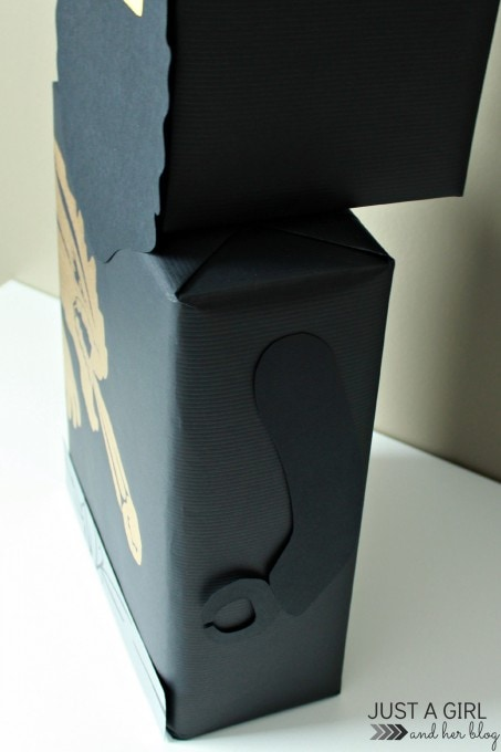 Ninja Valentine Box by Just a Girl and Her Blog