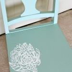 Trash to Treasure: Stenciled Chair Makeover