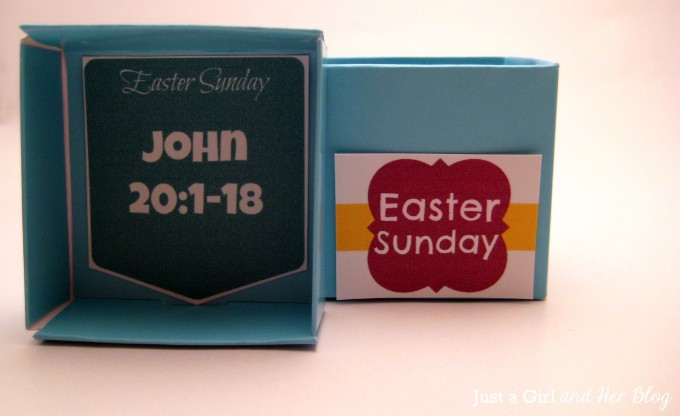 Countdown to Easter by Just a Girl and Her Blog