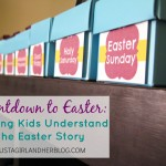 Countdown to Easter Activity for Kids {Repost}