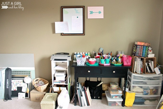 A Fabulously Feminine Home Office Update 1 at JustAGirlAndHerBlog.com