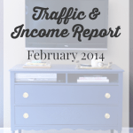 February 2014 Traffic and Income Report