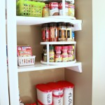 Organizing the Pantry with Tupperware