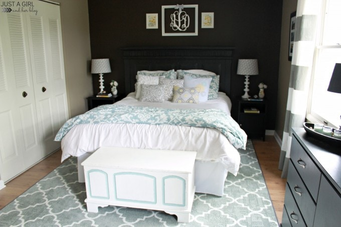 Spring Home Tour at JustAGirlAndHerBlog.com