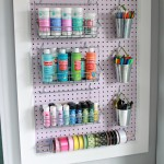 Trash to Treasure: A Pegboard Makeover {Fabulously Feminine Home Office- Update #2}