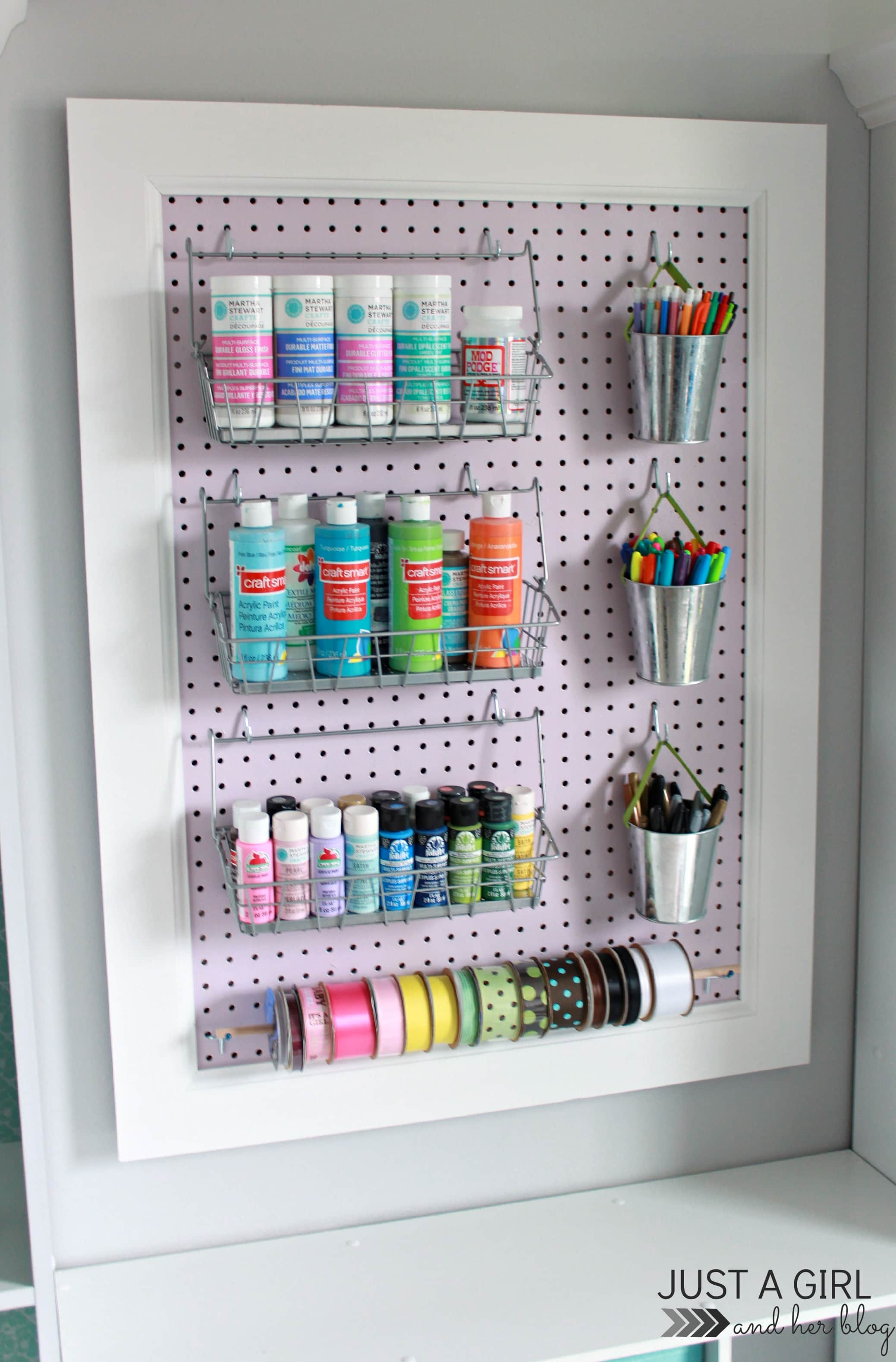 trash to treasure a pegboard makeover fabulously