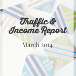 March 2014 Traffic and Income Report