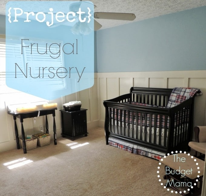 The Budget Mama Our 68 Nursery