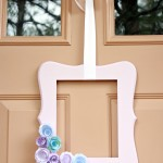 Simple Spring Door Decor