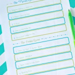 Getting Organized for Summer: Routines